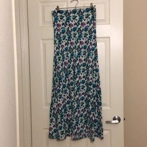 Pre-Owned LuLaRoe Maxi Skirt Size Small (6-8)